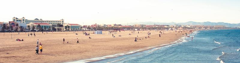 Malvarrosa beach
