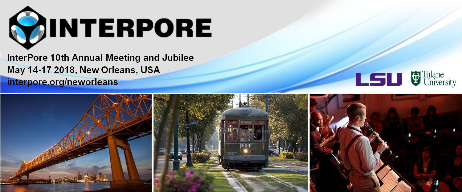 InterPore2018 New Orleans